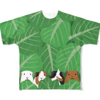 モルモルもぐもぐタイム L/XL Full graphic T-shirts