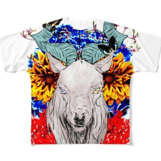 【ネマレ屋】マーコール Full graphic T-shirts