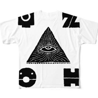 サイファー Full graphic T-shirts