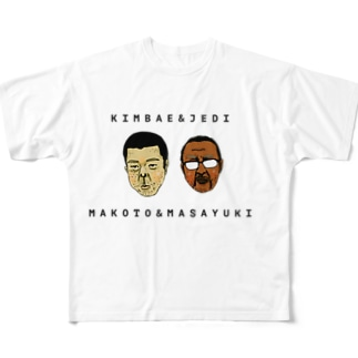 KIMBAE&JEDI Full graphic T-shirts