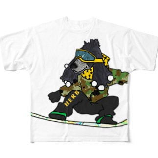 Herb Full graphic T-shirts
