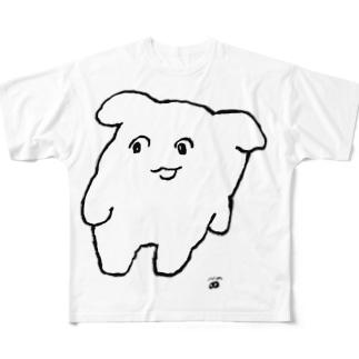 よよ(しろ) Full graphic T-shirts
