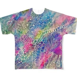 すいさい Full graphic T-shirts