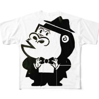 ピテカンTシャツ Full Graphic T-Shirt