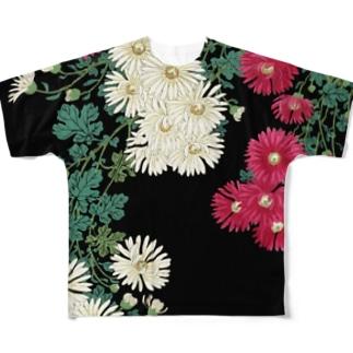 菊 Full Graphic T-Shirt