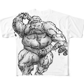 ゴーレムちゃんその1 Full graphic T-shirts