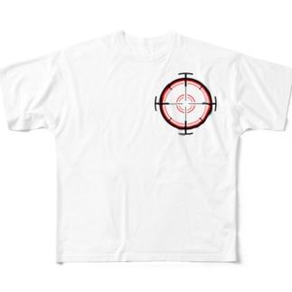 ターゲット Full graphic T-shirts