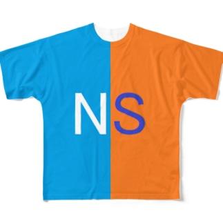 NSくん Full graphic T-shirts