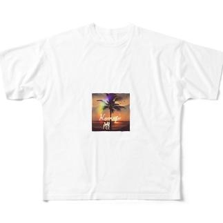 こむぎのたそがれ Full graphic T-shirts