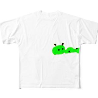 ありがとアリくん Full graphic T-shirts