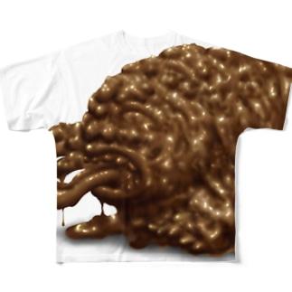 ちょこれーともんすたー Full graphic T-shirts