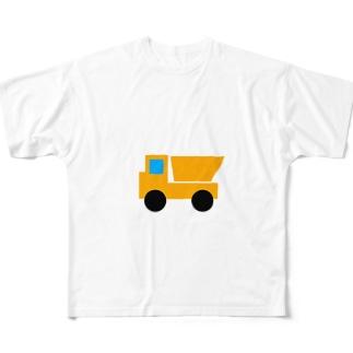 ダンプカー Full graphic T-shirts