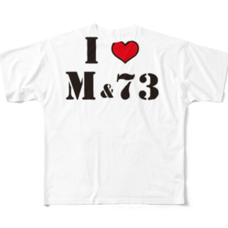 M&73 松本菜奈実 Full graphic T-shirts