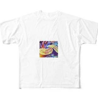 夏のマハラジャ Full graphic T-shirts
