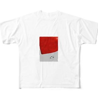 忖度 Full graphic T-shirts