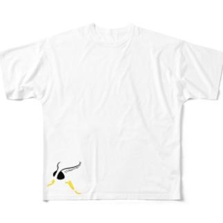 キアシドクガ Full graphic T-shirts