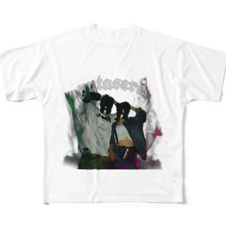 yutasera Full graphic T-shirts