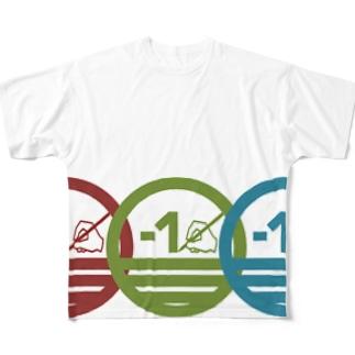 ロゴ・トリプレッツ Full graphic T-shirts