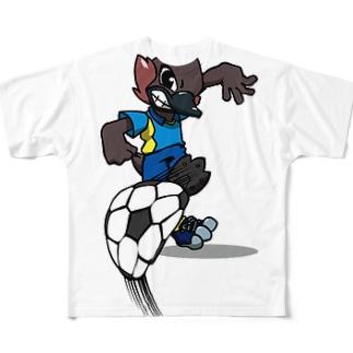 フットサル! Full graphic T-shirts