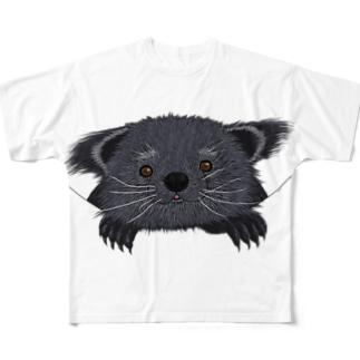ビントロングぅー Full graphic T-shirts