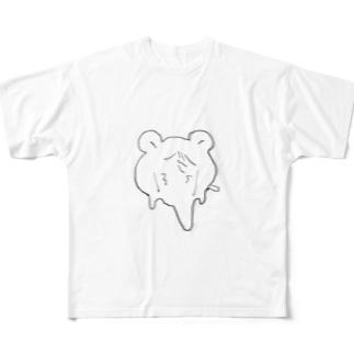 でろりんはむちゅた Full graphic T-shirts