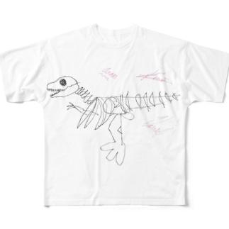 ガオーくん極 Full graphic T-shirts