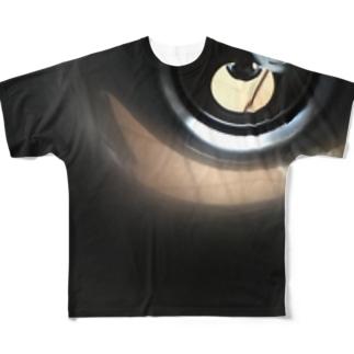 小人の世界/缶 Full graphic T-shirts