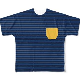 WTBよしひろ Full graphic T-shirts