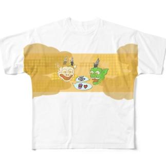 🍯ダん Full graphic T-shirts