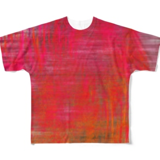Red Full Graphic T-Shirt