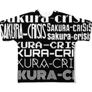 Sakura-criSiS logo Full graphic T-shirts