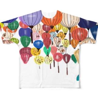 ホイアンのランタン Full Graphic T-Shirt