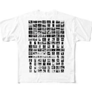 写真いろいろ Full graphic T-shirts