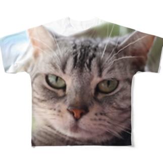 いろはが見てる Full graphic T-shirts