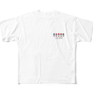 ONDINE公式グッズ Full graphic T-shirts