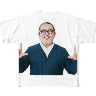 常時SSLおじさんビブ Full graphic T-shirts