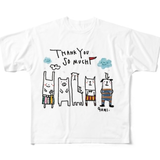 SPECIAL THANKYOU!!! Full graphic T-shirts