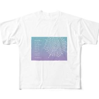 宇宙ドリンクメニューシリーズ Full graphic T-shirts