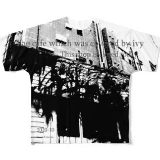 アイビーカフェ02 Full graphic T-shirts