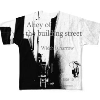 路地 Full graphic T-shirts