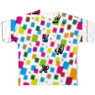 カラフルSA Full graphic T-shirts