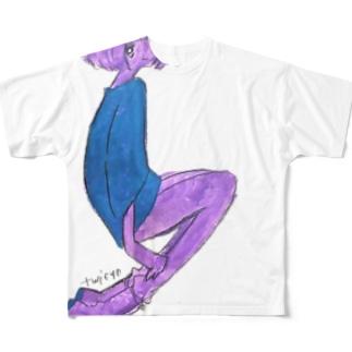 ティーガール Full graphic T-shirts