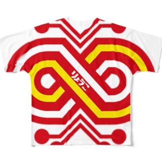 パ紋No.2954 りょうこ Full graphic T-shirts