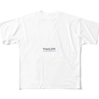 TopoLVM グッズ Full graphic T-shirts