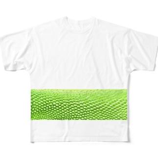 カナヘビさん Full graphic T-shirts