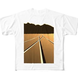 P地点から Full graphic T-shirts