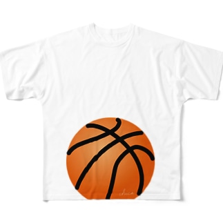 マタニティフォト バスケットボール All-Over Print T-Shirt