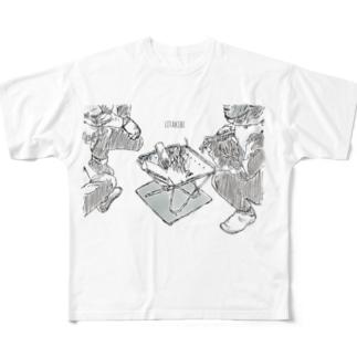 リタキビ Full graphic T-shirts