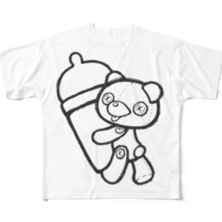 【Teddy bear】 Full graphic T-shirts