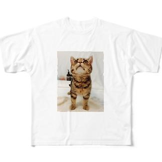見上げおじゃ Full graphic T-shirts